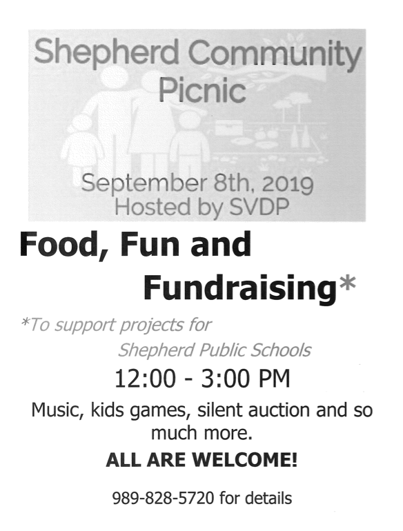 Shepherd Community Picnic