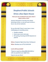 Learn to Drive a Bus Open House